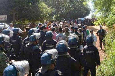 Tensión al alza entre campesinos y autoridades paraguayos