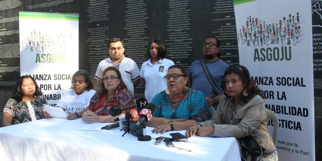ASGOJU exige una ronda de diálogo inclusiva con todos los actores sociales