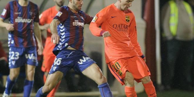 Barcelona busca prolongar su buena racha en la cancha de Eibar