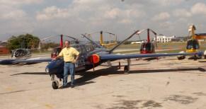 Eduardo Poma, presidente del comité organizador de pilotos. Foto Diario Co Latino / Ricardo Chicas Segura