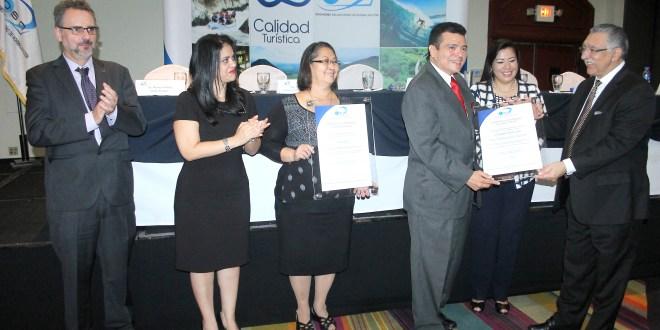 Hoteles y restaurantes reciben certificación de calidad para turistas
