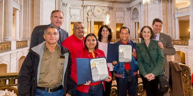 STESEC viaja a California para fortalecer lazos con sindicato extranjero