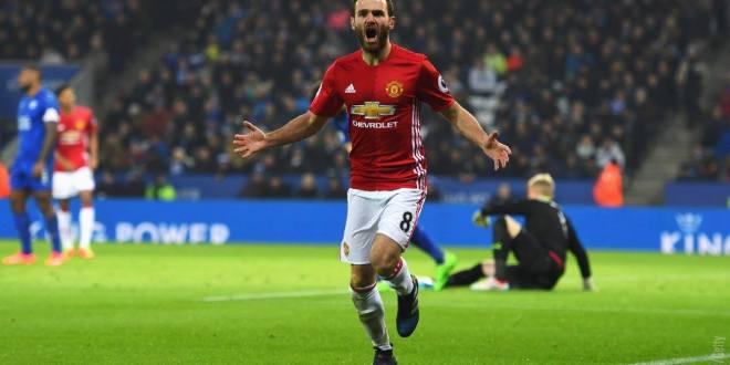 United hunde al Leicester y el City logra un triunfo agónico