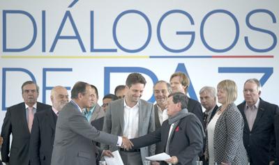 Gobierno de Colombia y el ELN empiezan a negociar acuerdo de paz