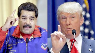Maduro y Trump recalientan la ya difícil relación Venezuela-Estados Unidos