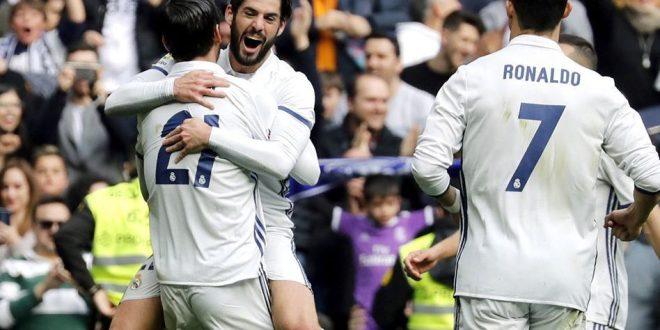 Real Madrid derrota al Espanyol  y se aferra al liderato