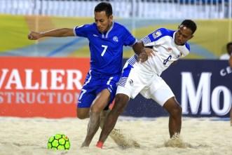 El Salvador luchó hasta el último momento por el boleto al Mundial de Fútbol Playa. Foto Diario Co Latino/ Beach Soccer.