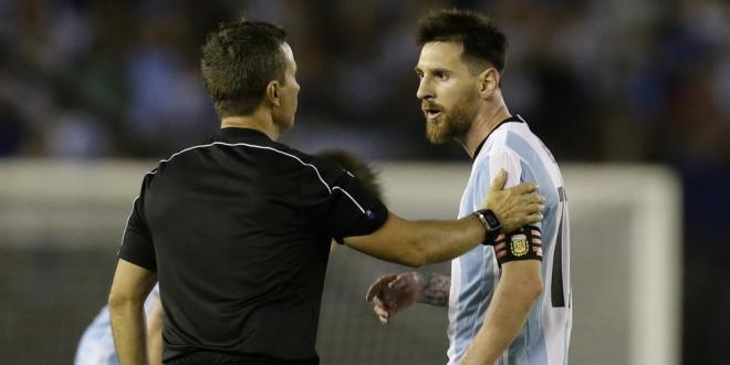 Messi se perderá cuatro partidos con Argentina por sanción