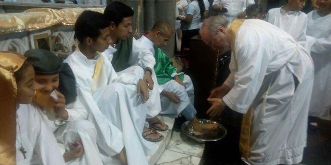 Católicos conmemoran Última Cena de Jesús e inicio del Triduo Pascual