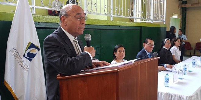 Ley de Ética será impartida  a estudiantes de básica y bachillerato