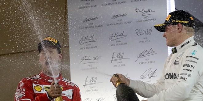 Vettel gana en Bahréin y es  el único líder del campeonato