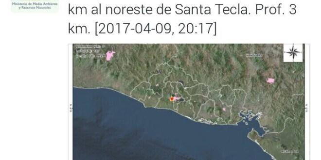 Sismos causan alarma a población salvadoreña