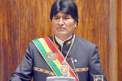 Evo Morales mantiene su liderazgo