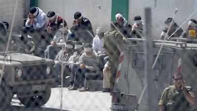 Israel se muestra firme con los presos palestinos en huelga de hambre