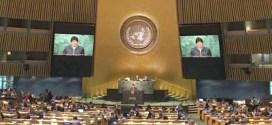 Evo Morales critica en ONU políticas imperiales por su impacto global