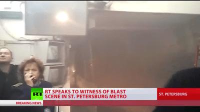 El atentado de San Petersburgo perpetrado por un kamikaze