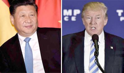 Trump recibe a Xi en un cara a cara muy esperado
