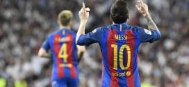 Lionel Messi marca su gol 500 con el Barcelona