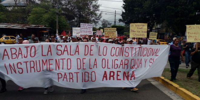Sociedad civil expresa repudio por medida cautelar de la Sala contra el SITRAMSS