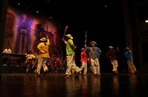 Ballet Folclórico Nacional celebró 40 años de existencia
