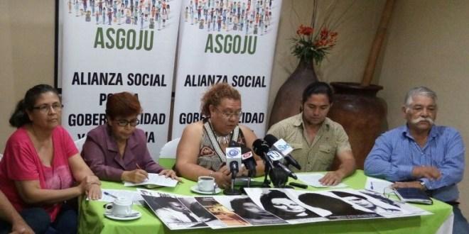 """""""En El Salvador impera la impunidad, las víctimas civiles son olvidadas"""": ASGOJU"""