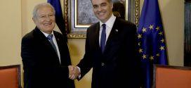 Presidente Sánchez Cerén se reúne con embajador de la Unión Europea