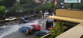 Fuerte lluvia en el Área Metropolitana de San Salvador
