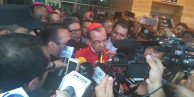 "Cardenal Rosa Chávez ""Mensajero de la Paz"""