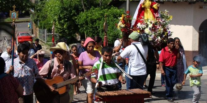Cofradía indígena honra a su patrona María de la Asunción