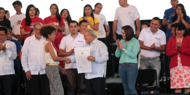 Presidente Sánchez Cerén inaugura Juventour 2017