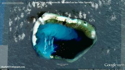 China protesta por maniobras navales de Estados Unidos cerca de isla controvertida