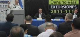 PNC y FGR lanzan campaña antiextorsiones