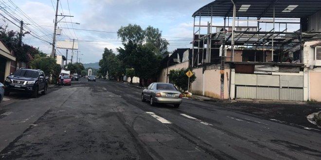 FOVIAL habilita paso en el final de la calle San Antonio Abad