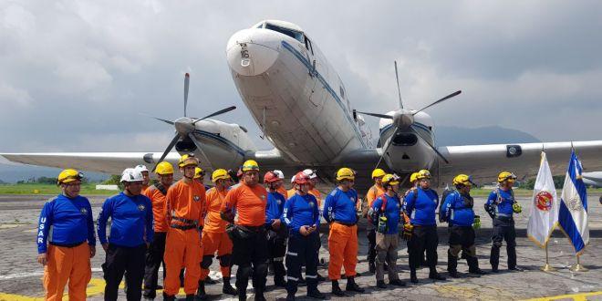 Grupo USAR El Salvador se une a labores de búsqueda y rescate de víctimas en el terremoto de México