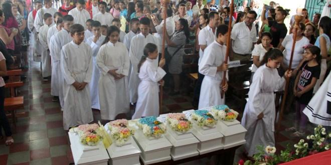 Sepultan osamentas de niños  desaparecidos por Ejército salvadoreño