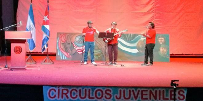Jóvenes llevan a cabo mega jornada contra el bloqueo con Cuba