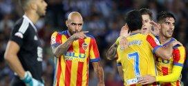 Valencia se mantiene cuarto  en la Liga española