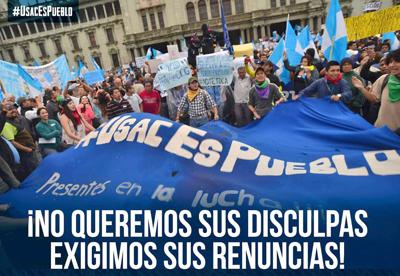 Manifestaciones en Guatemala por reformas legales que blindan a políticos