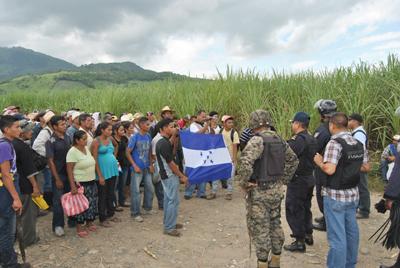 Disputa por tierras se agudiza en conflictiva zona hondureña