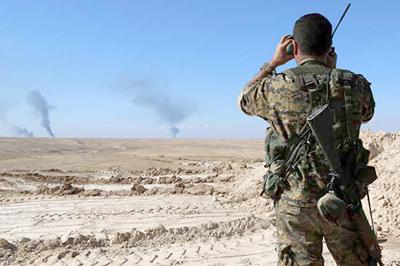Avanza ofensiva de Ejército sirio en frontera con Iraq