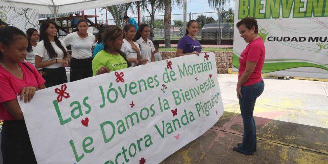 """SIS lanza """"Ciudad Mujer Joven"""" en el departamento de Morazán"""