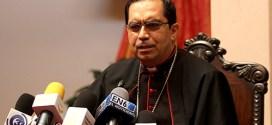 Arzobispo Escobar Alas pide pronta aprobación de Ley General de Aguas