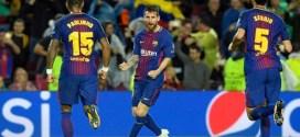 Barcelona gana sin sudar a un apático Olympiakos