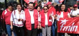 FMLN : lucha consecuente junto al pueblo salvadoreño
