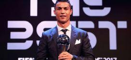 """Cristiano Ronaldo repite en """"The Best"""" y supera a Messi"""