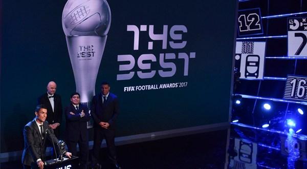 "Cristiano Ronaldo gana el ""The Best"" y supera a Messi"