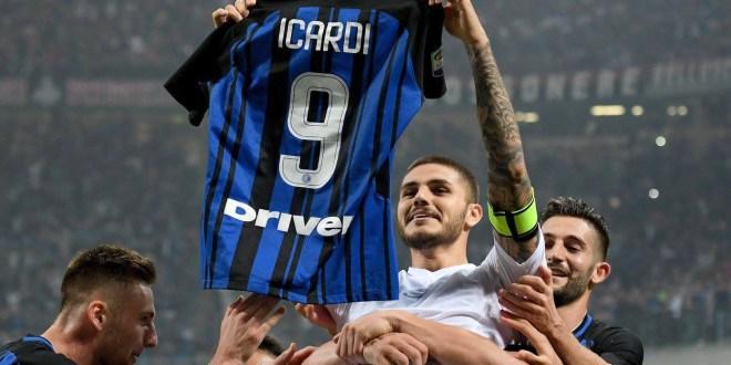 Icardi mantiene al Inter  en el segundo lugar de la Serie A
