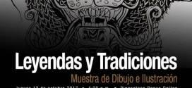 Leyendas y tradiciones Dibujos e ilustraciones en la Pinacoteca de UES