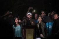 Bukele dio su discurso político asegurando que será presidente el 2019. Foto Diario Co Latino/ David Martínez.
