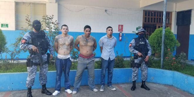 Capturan a pandilleros involucrados en asesinato de policía